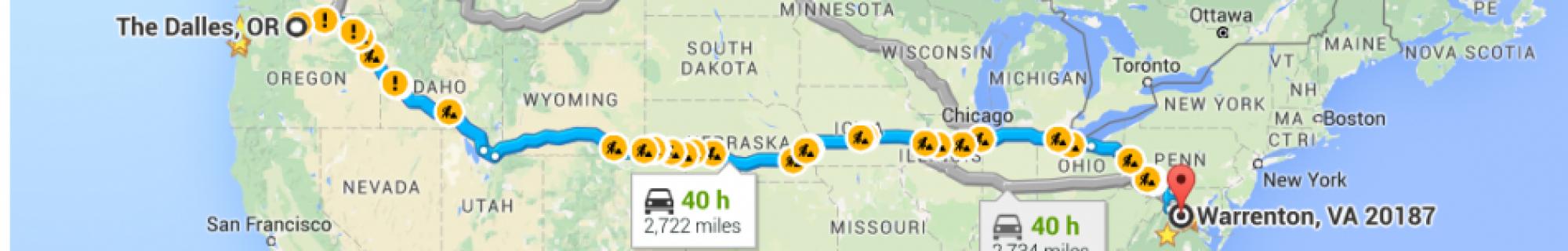 Road Trip Whee!
