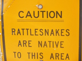 I wanted to stretch my legs in Nebraska, but was put off by this sign.