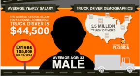 Demographics of long-haul truck drivers.